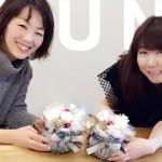 戸澤美歩さんによるフラワーレッスン開催風景